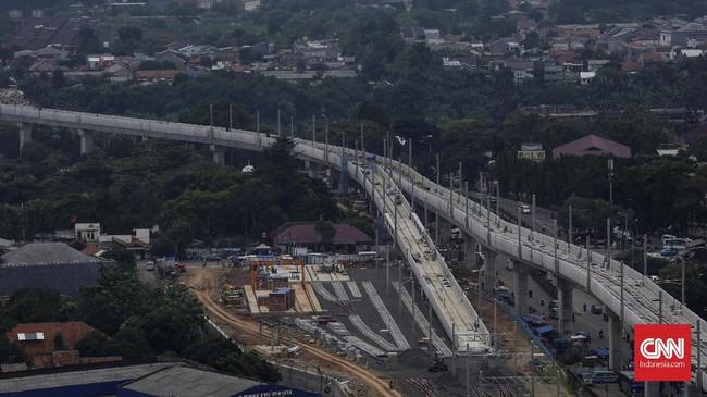 Selain depo, di atas lahan seluas 8 hektar juga dibangun stasiun, pusat kontrol, dan area bengkel untuk perawatan kereta MRT. (CNN Indonesia/ Hesti Rika)