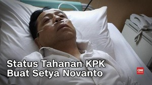 VIDEO: Status Tahanan KPK buat Setya Novanto
