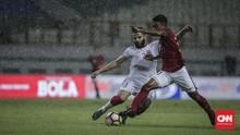 Babak Pertama: Timnas Indonesia Unggul 1-0 atas Singapura