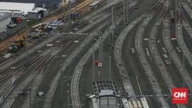FOTO: Melihat Perkembangan Pembangunan Depo MRT Lebak Bulus