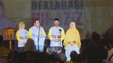 Deklarasi Pasangan Nurdin-Azis dalam Pilkada Sulawesi Selatan