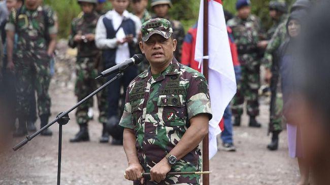 Gatot Nurmantyo Bantah Daftar Jadi Capres Lewat Gerindra