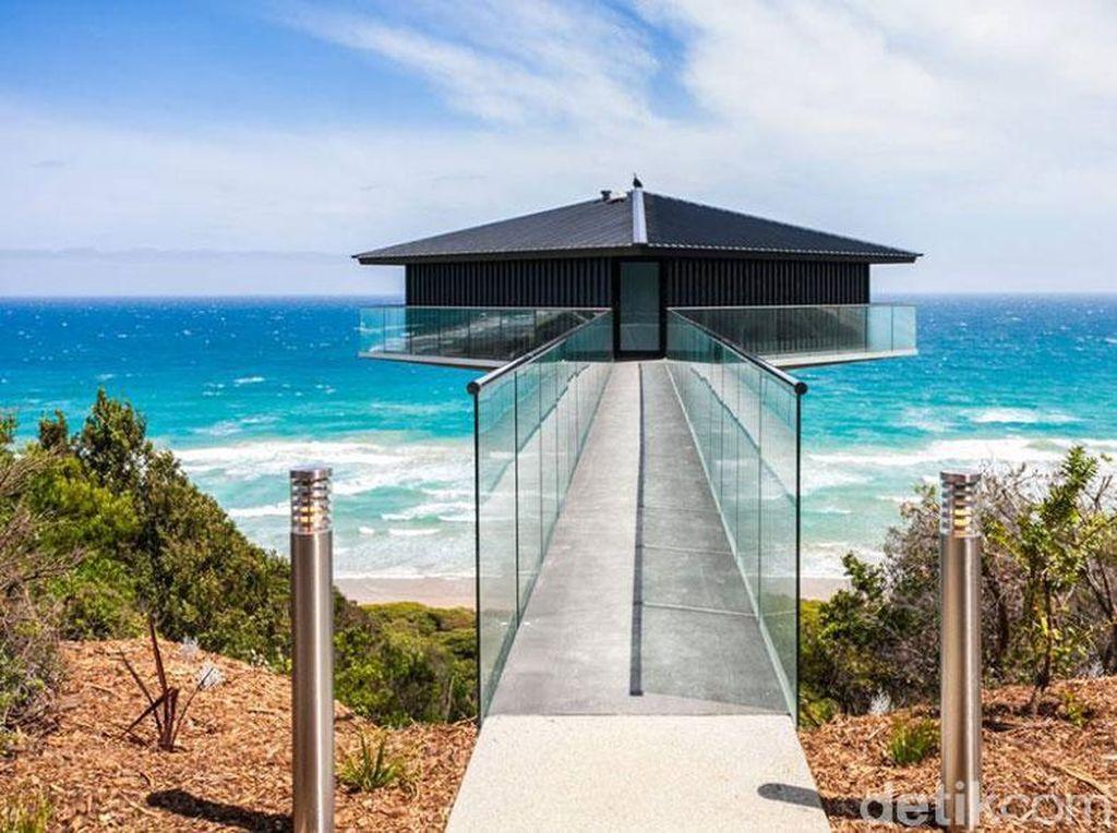 Rumah tersebut berlokasi di atas pesisir Australia Selatan.