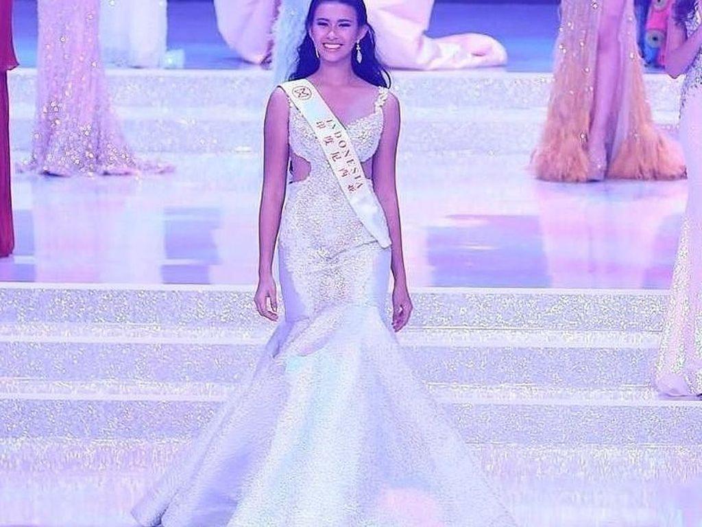 Foto: Ini Archintya Nilsen, Gadis 18 Tahun Wakil Indonesia di Miss World 2017