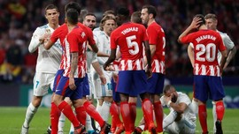 Derby Atletico vs Madrid Berakhir Imbang