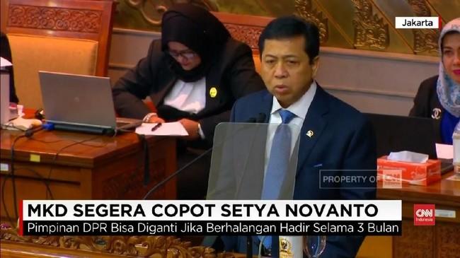 VIDEO: MKD Segera Putuskan Nasib Setya Novanto