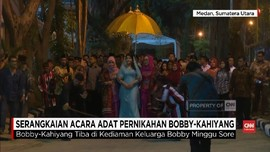 VIDEO: Rangkaian Adat Mandailing di Pernikahan Kahiyang-Bobby