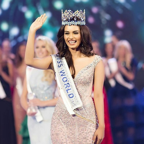 Foto: Cantiknya Miss India, Pemenang Miss World 2017