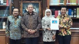 SBY Dikabarkan Usung Khofifah-Emil Dardak di Pilgub Jatim