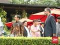 Jokowi Menjamu Tamu Afghanistan dengan Bakso dan Sate Ayam