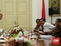 Bertemu Jokowi, Bank Dunia Paparkan Potensi Resesi Global