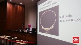 Berlian Ahmad Fathanah hingga Lukisan Sanusi Dilelang KPK