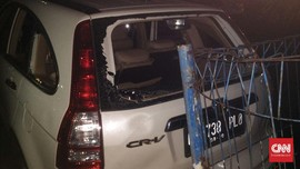Perempuan Ditangkap Akibat Tabrak Belasan Mobil di Senayan