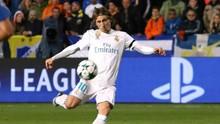 Modric Masuk Skuat Madrid vs Atletico di Piala Super Eropa