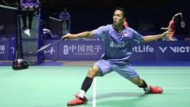 Jonatan Christie Minta Maaf Tersingkir di Indonesia Masters