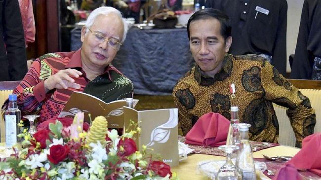 Di Kuching, Jokowi-Najib Hasilkan Enam Lembar Kesepakatan