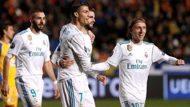 Ronaldo Benzema Cari Momen di La Liga
