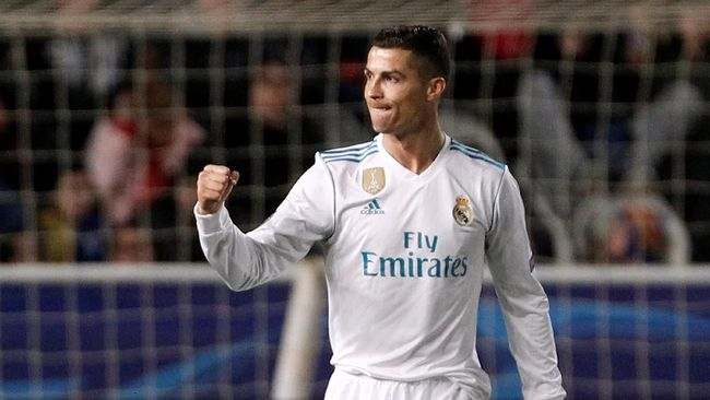 Cetak Dua Gol dan Pecahkan Rekor, Ronaldo Masih Murung