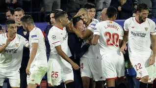Pelatih Kena Kanker, Sevilla Sukses 'Istanbul-kan' Liverpool