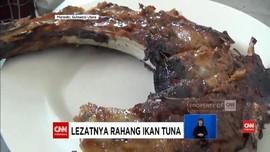 VIDEO: Rahang Ikan Tuna Kini Jadi Kuliner Favorit Manado