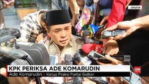 VIDEO: Ade Komarudin Diperiksa KPK