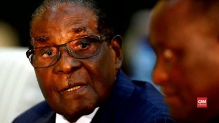 VIDEO: Suka Cita di Zimbabwe saat Mugabe Mundur