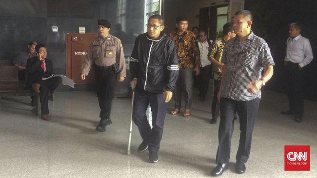 Anas Urbaningrum Bersaksi di Sidang Korupsi e-KTP