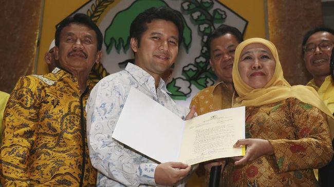 Dampingi Khofifah, Emil Dardak Resmi Dipecat PDIP