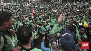 Pihak Istana Temui Perwakilan Demo Ojek Online