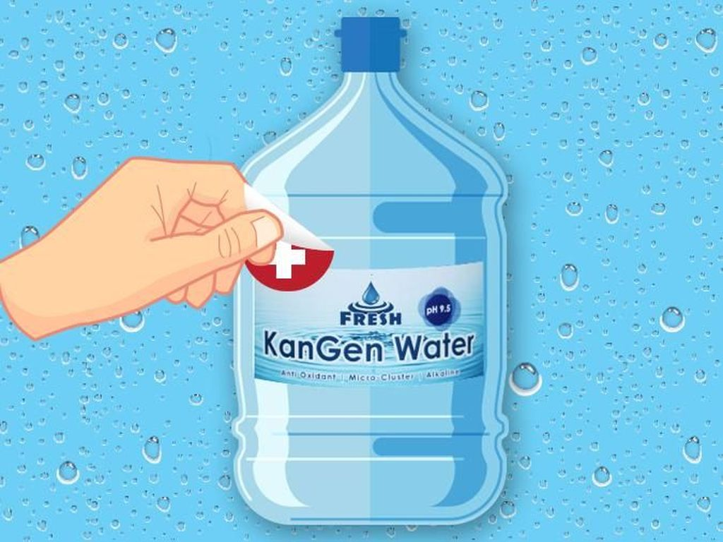 Saran Kemenkes Soal Air Alkali: Jangan Terbuai dengan Iklan