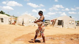 FOTO: Suku Warao, Lari dari Venezuela, Terdampar di Brasil