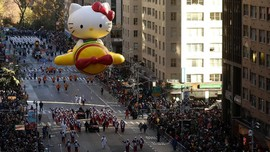 FOTO: Melihat Riuhnya 'Macy's Thanksgiving Day Parade'