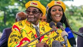 Polisi Afsel Perintahkan Istri Robert Mugabe Ditangkap