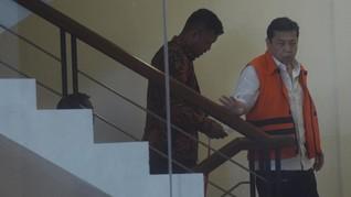 Setnov Bungkam Ditanya Dua Anaknya Mangkir Panggilan KPK