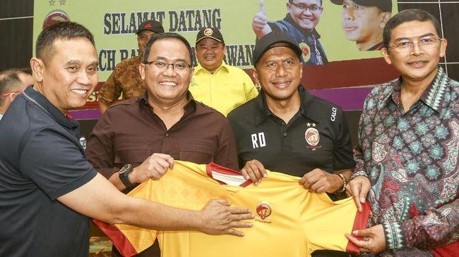 Rahmad Darmawan: Skuat Sriwijaya FC 80 Persen Sudah Terbentuk
