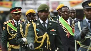FOTO: Pelantikan Mnangagwa Jadi Presiden Baru Zimbabwe