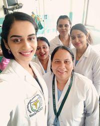Chhillar merupakan seorang mahasiswa pendidikan kedokteran di Bhagat Phool Singh Medical College di Sonipat. (Foto: Instagram @manushi_chhillar)