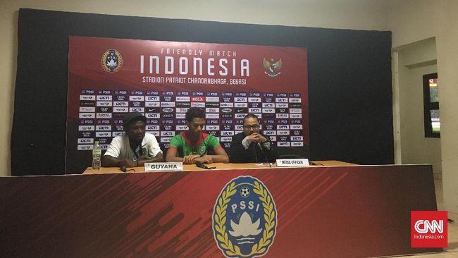 Pelatih Guyana Puji Pemain Muda Timnas Indonesia