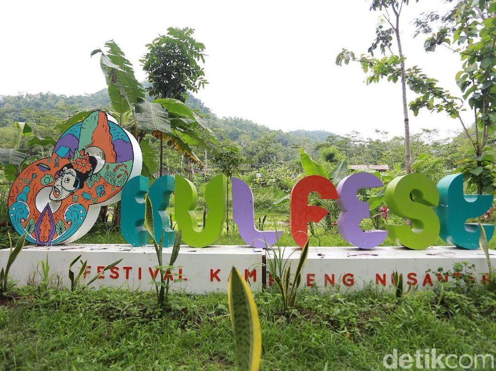 Kulon Progo Festival digelar tiga hari, 24 hingga 26 November 2017. Foto: Hanif Hawari/detikHOT
