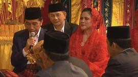 4 Pesan Bijak Jokowi untuk Kahiyang dan Bobby