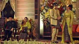 Melaney Ricardo Takjub dengan Pesta Adat Kahiyang-Bobby