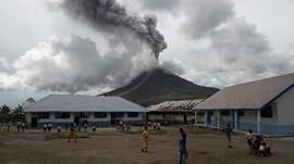 Status Gunung Sinabung Turun ke Level Siaga