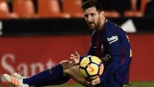 Messi Ungkap Penyebab Pernah Muntah-muntah di Lapangan