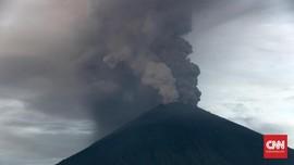 PVMBG: Laju Magma Gunung Agung Melambat