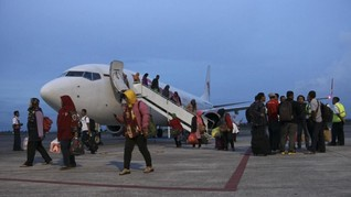 Aktivitas Penerbangan Bandara Lombok Berjalan Normal