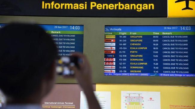 Sempat Erupsi, Operasional Bandara Bali Dipastikan Aman