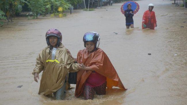 Doa Netizen Mengalir untuk Korban Banjir Pacitan