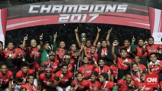 FOTO: Persebaya Surabaya Berjaya di Liga 2