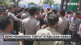 Demo Mahasiswa Terhadap Harga Bawang Merah