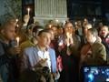 VIDEO: Nyala Lilin Solidaritas buat Korban Teror Bom Mesir